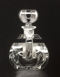 Art Deco Perfume Bottle #2 c.1950